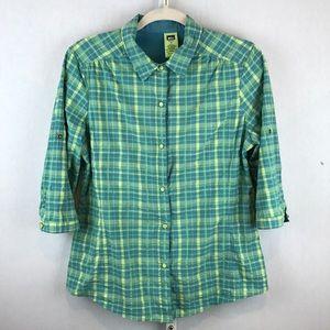 REI Size M Women's 3/4 or Short Sleeve Shirt
